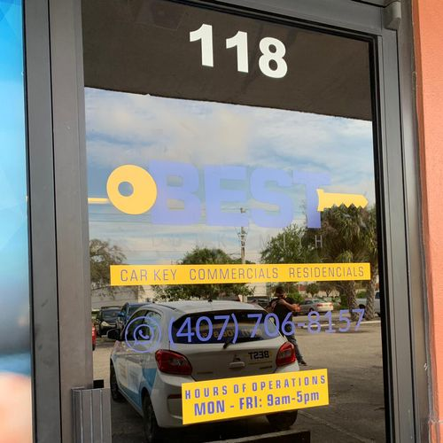 Locksmith Orlando front door